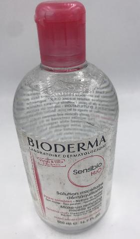 BIODERMA SENSIBIO H2O MAKE-UP REMOVING MICELLE SOLUTION 500 ML. 16.7 FL. OZ.