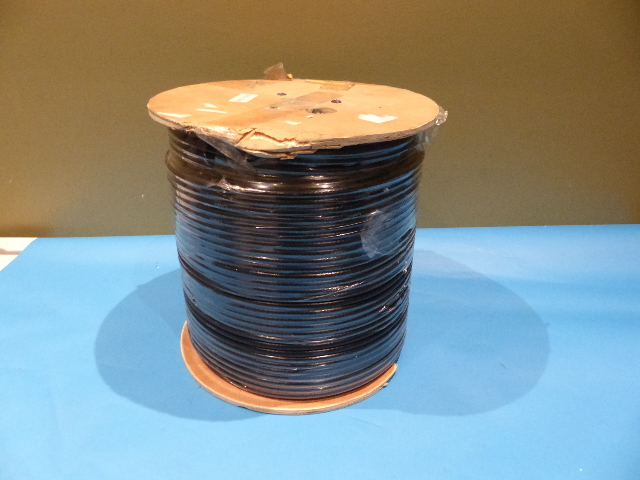 1000FT COAXIAL RG6 DUAL COATED OUTDOOR CABLE