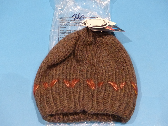 BUFF KNITTED UNISEX LILE BROWN HAT