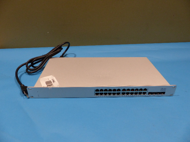 MERAKI CISCO MS225-24P-HW 24-PORT GIGABIT POE SWITCH UNCLAIMED