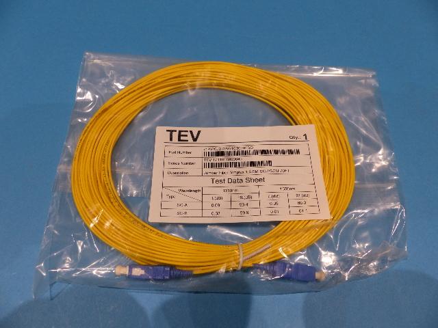 TELECOM EPCOM VENTURE PCJ2J2AG1C3070FSO 1.6SM SCU/SCU 70FT FIBER OPTIC CABLE