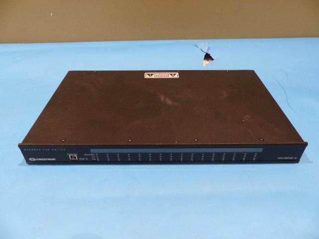 CRESTRON CEN-SWPOE-16 PORT POE ETHERNET MANAGED NETWORK SWITCH