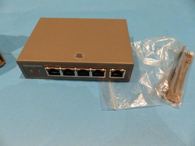 CENTROPOWER POE-EX2005-4P-60W 4 PORT POE+ SWITCH NETWORK EXTENDER
