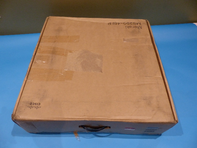CISCO MERAKI MS250-48FP-HW GIGABIT ETHERNET SWITCH UNCLAIMED