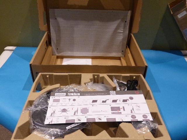 LENOVO THINKVISION P24H-10 IPS LED FLAT PANEL COMPUTER MONITOR