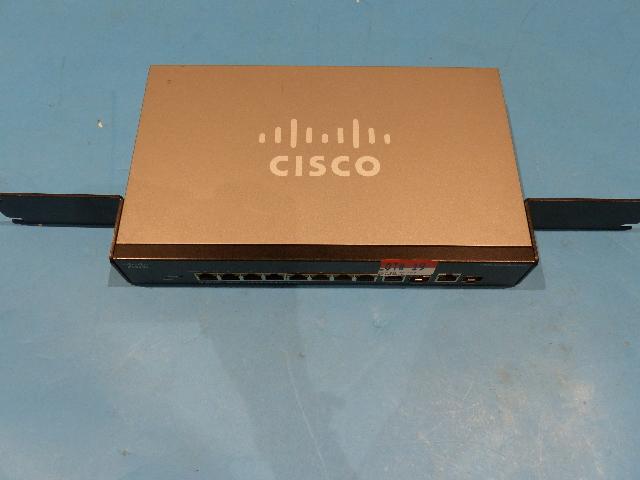 CISCO SF302-08P SRW208P-K9 V02 8-PORT 10/100 POE MANAGED SWITCH