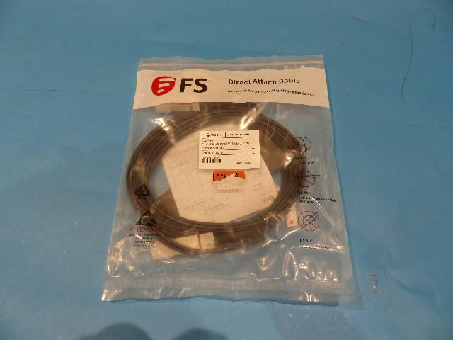 FS Q-4SPC02 2M PASSIVE DIRECT ATTACH COPPER BREAKOUT CABLE