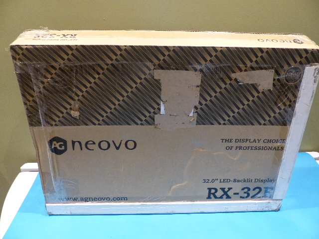 AG NEOVO RX-32 32IN SEMI RUGGED LCD DISPLAY/ VGA/DVI/HDMI/BNC LOOP THROUGH