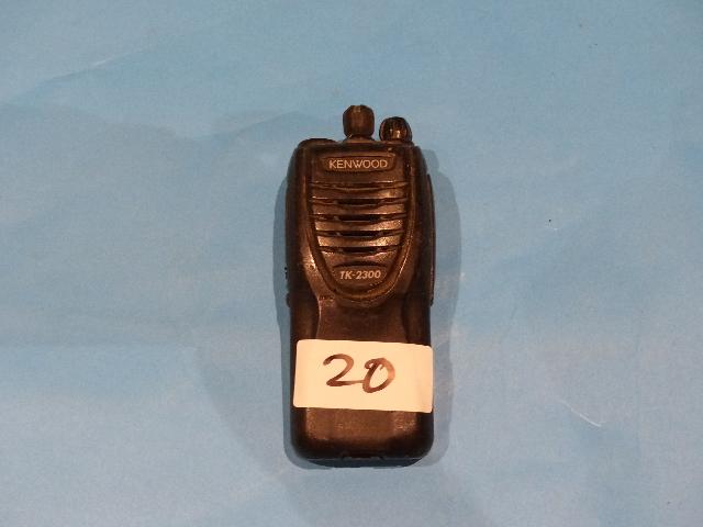 KENWOOD VHF RADIO TK-2300 W/OUT BATTERY FCC ID ALH413501