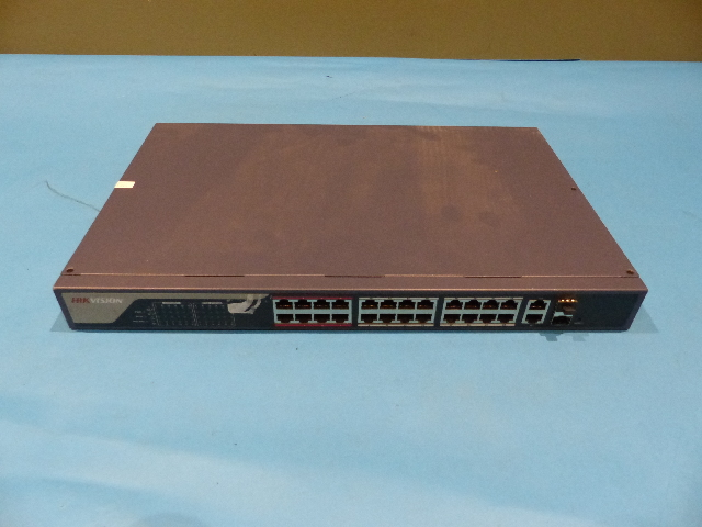 HIKVISION DS-3E1326P-E 24FE+2G ETHERNET WEB SMART POE SWITCH