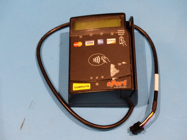 USA TECHNOLOGIES EPORT VENDI G9 RFID CARD READER FOR VENDING MACHINES