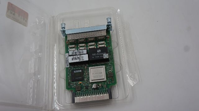 CISCO HWIC-4T1/E1 4 PORT CLEAR CHANNEL T1/E1 HIGHSPEED WAN INTERFACE CARD