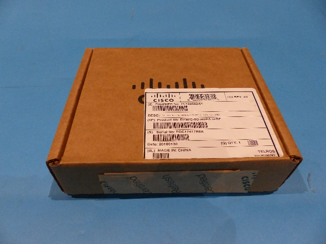 CISCO EHWIC-3G-HSPA-U-RF HIGH-SPEED WAN BACKUP INTERFACE CARD 890367