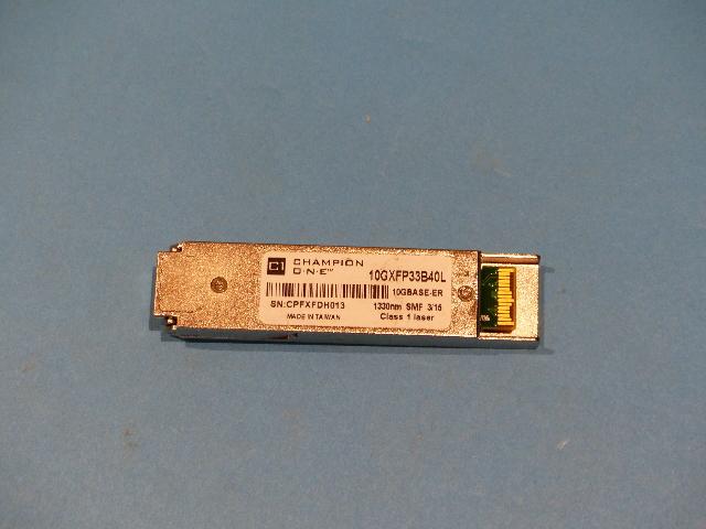 CHAMPION ONE 10GXFP33B40L 10G XFP 1330NM SINGLE FIBER MODULE