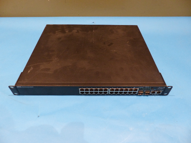 DELL POWERCONNECT 3524P 24 PORT MANAGED POE ETHERNET SWITCH