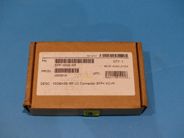 ARUBA GENUINE SFP-10GE-SR 10GBASE LC CONNECTOR SFP+ XCVR TRANSCEIVER