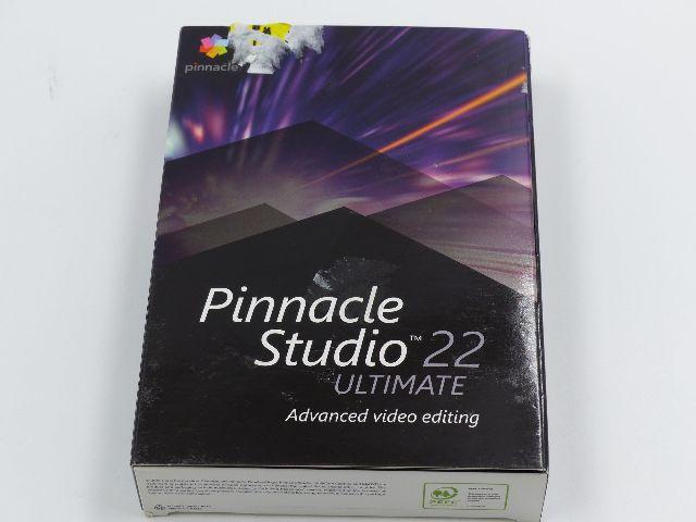 PINNACLE PNST22ULEFAMC STUDIO 22 ULTIMAWTE ADVANCED VIDEO EDITING