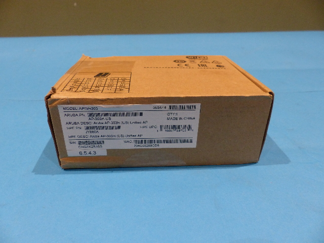 ARUBA AP-303H-US ACCESS POINT 2.4/5 GHZ 867 MBPS WI-FI