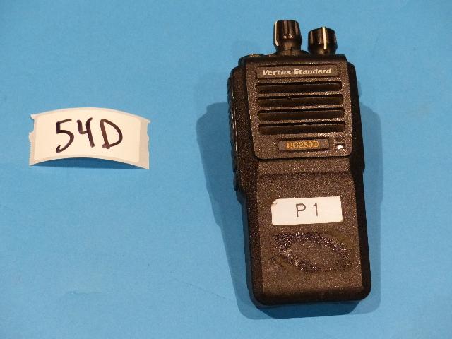VERTEX STANDARD BC250D-G6-4 16 CHANNEL TWO WAY RADIO
