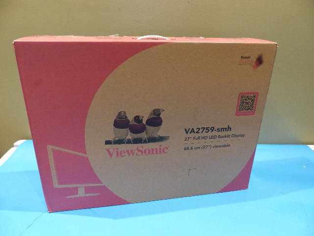 VIEWSONIC VA2759-SMH 27IN IPS 1080P FRAMELESS LED MONITOR