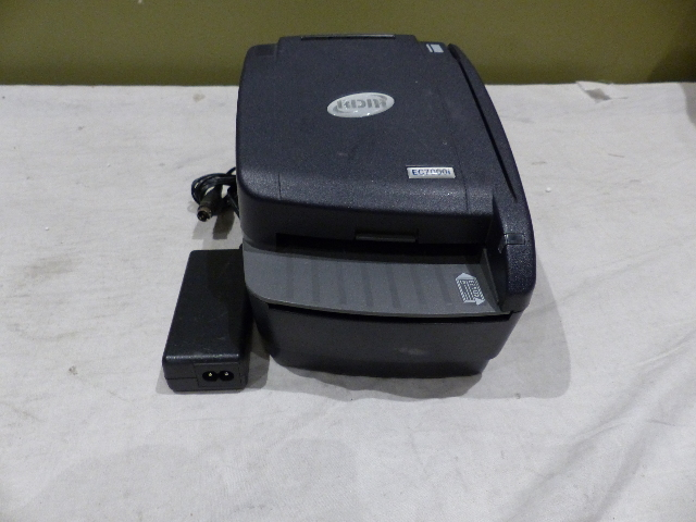 RDM EC7111F CHECK & CREDIT CARD READER DUAL SIDED SCANNER