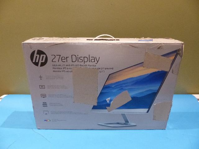 HP 27ER DISPLAY 27IN IPS LED BACKLIT MONITOR