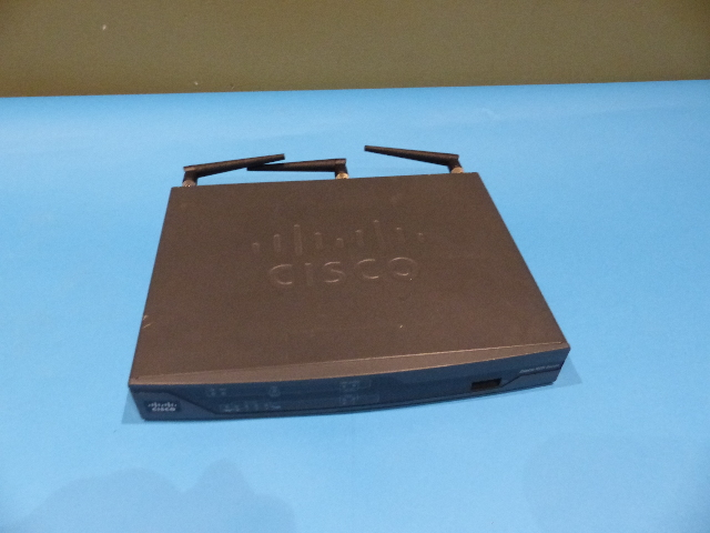 CISCO 881-SEC-K9 ETHERNET SECURITY ROUTER