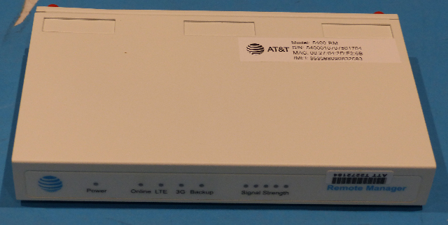 ACCELERATED ASB-5400-RMA1-GLB CALLER AT&T REMOTE MANAGER