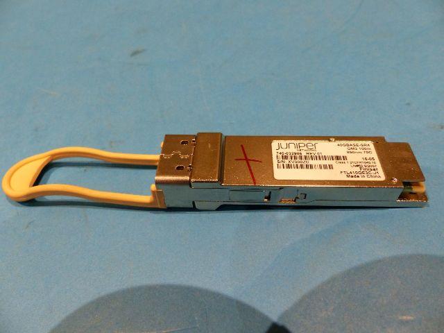 JUNIPER QFX-QSFP-40G 740-032986 40GBASE-SR4 QSFP+ 850NM TRANSCEIVER