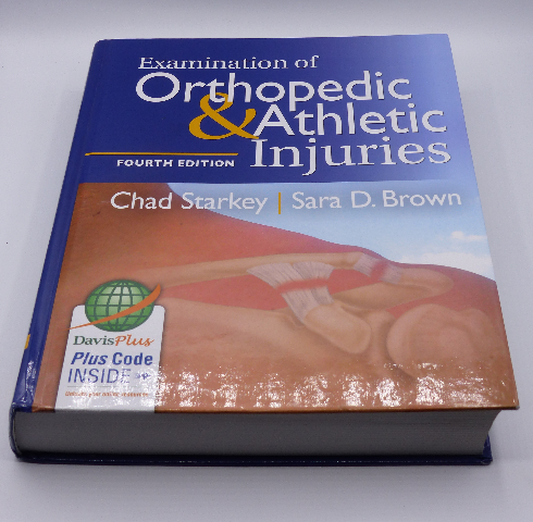 EXAMINATION OF ORTHOPEDIC & ATHLETIC INJURIES FOURTH EDITION STARKEY HARDCOVER