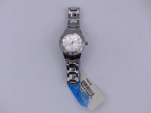 FOSSIL PR 5335 SILVER WATCH SWISS MOVEMENT STRAP THAILAND STAINLESS STEEL 150725