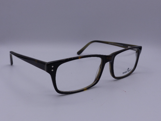 WIDE GUYZ EYEGLASS FRAMES DARK BROWN TORTOISE 63-19-152 UNTOUCHABLE