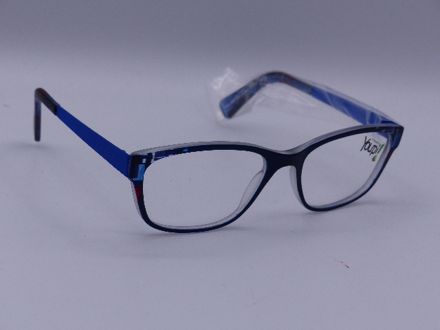 YOUPI YOUTH EYEGLASSES 45-16/203 BLUE GLASSES NETHERLANDS 120 MODEL Y050