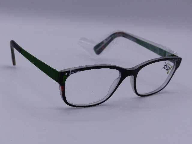 YOUPI YOUTH EYEGLASSES 46-16/100 GREEN GLASSES SIMPLE NETHERLANDS 120 MODEL Y050