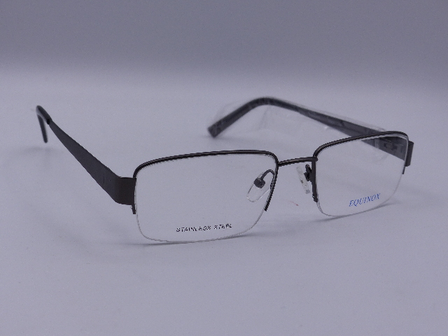 EQUINOX EYEWEAR GLASSES NEW W/OUT CASE 54/18 EQ224 145 GUNMETAL