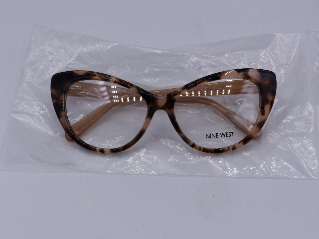 NINE WEST EYEGLASSES FRAMES NW5085 674 53 X 15 135MM TORTOISE LIGHT NUDE CAT EYE