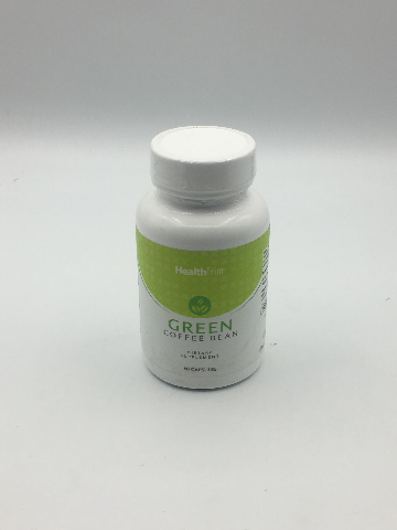 HEALTH TRIM GREEN COFFEE BEAN DIETARY SUPPLEMENT 60 CAPSULES