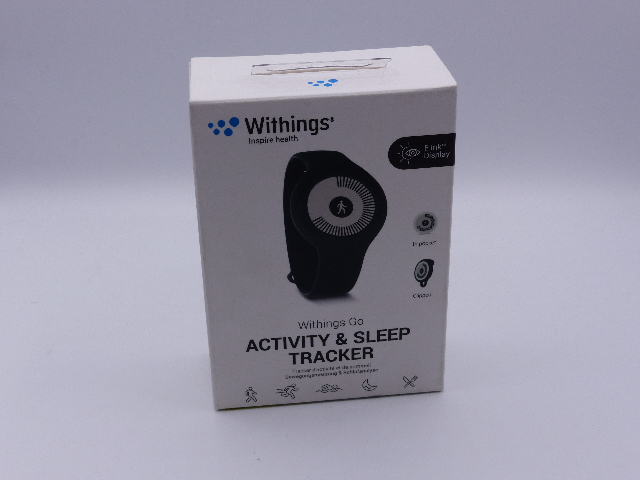 WITHINGS INSPIRE HEALTH GO ACTIVITY & SLEEP TRACKER WAM02-BLACK