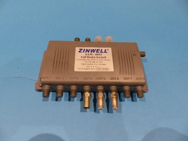 ZINWELL SAM-4803 DIRECTV DISH ANTENNA 4X8 MULTI-SWITCH