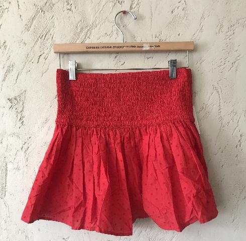 MARYSIA LAHAINA TOP/SKIRT SWISS DOT IN RED