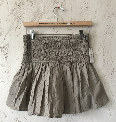 MARYSIA LAHAINA TOP/SKIRT SWISS DOT IN TAN