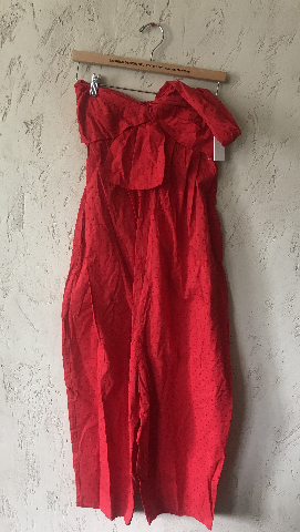 MARYSIA VENICE JUMPSUIT SWISS DOT IN RED