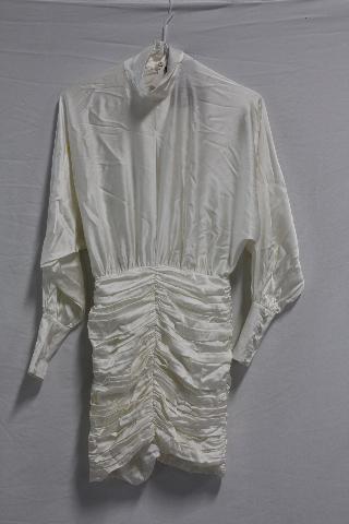 RETROFETE BARBARA DRESS IN WHITE SIZE XS