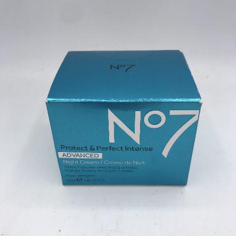 NO7 PROTECT & PERFECT INTENSE ADVANCED NIGHT CREAM 50 ML. 1.69 FL. OZ.