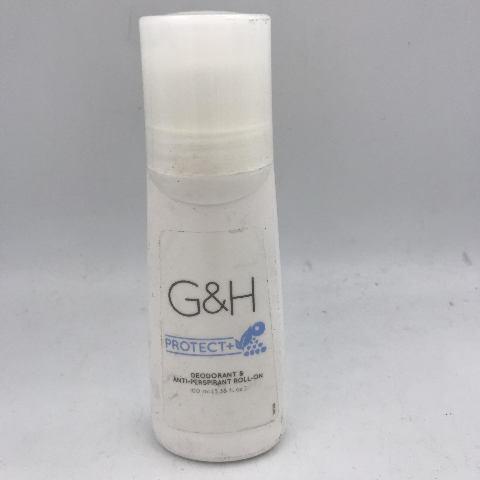 G&H PROTECT DEODORANT & ANTI-PERSPIRANT ROLL-ON 100ML. 3.38 FL. OZ.