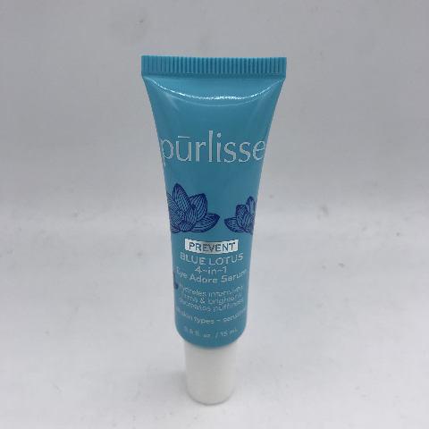 PURLISSE PREVENT BLUE LOTUS 4 IN 1 EYE ADORE SERUM .5 FL. OZ. 15 ML.
