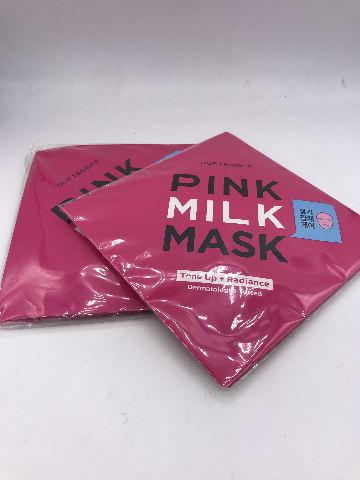 LOT OF 2 DUFT & DOFT PINK MILK MASK TONE UP + RADIANCE 27 ML. 1 FL. OZ.
