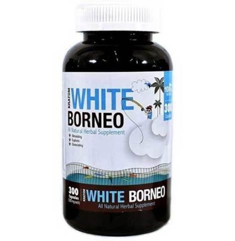 BUMBLE BEE WHITE BORNEO KRATOM 300 CAPSULES