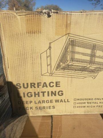 SURFACE LIGHTING DEEP LARGE WALL PACK SERIES