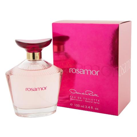 ROSAMOR FOR WOMEN BY OSCAR DE LA RENTA EAU DE TOILETTE SPRAY 3.4 OZ - NEW IN BOX